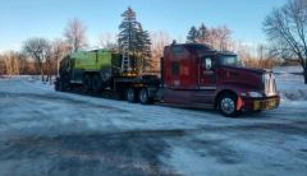 RGN hauling by Da-Ran, Inc. in 48 USA states