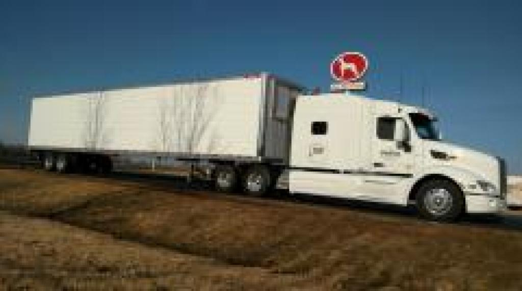 Dry Van Semi-Truck Hauling by Da-Ran, Inc. in 48 USA states